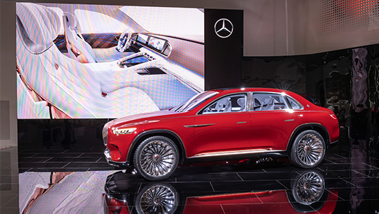 Vision Mercedes Maybach Ultimate Luxury, luxury mercedes-maybach, maybach suv, mercedes maybach suv, vision maybach suv